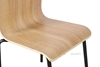 Picture of QUADRO BENT WOOD CHAIR *STACKABLE