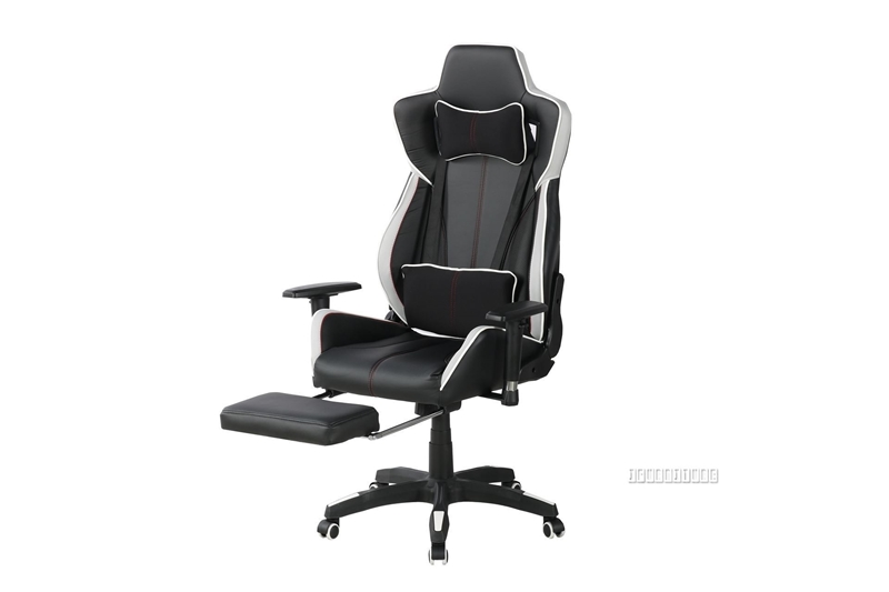 Oren High Back Reclining Office Chair Black Ifurniture