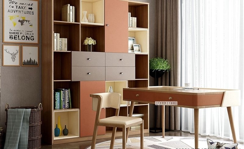 Picture of SEVILLA 4DRW 2DR BOOKCASE