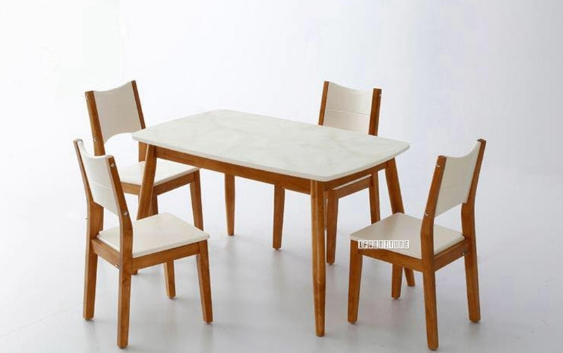 Picture of ARTISAN 5PC DINING SET *MARBLE TOP