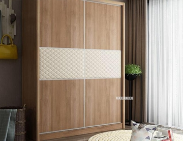 Picture of SEVILLA BIG SLIDING DOOR WARDROBE WITH INTERNAL STORAGE SYSTEM