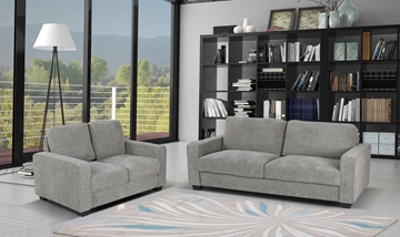 Picture of MILLER 3+2 SOFA RANGE *LIGHT GREY