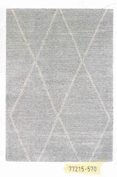 Picture of Horizon 160 Indoor Rug -Made In Belgium *Diamond Grey