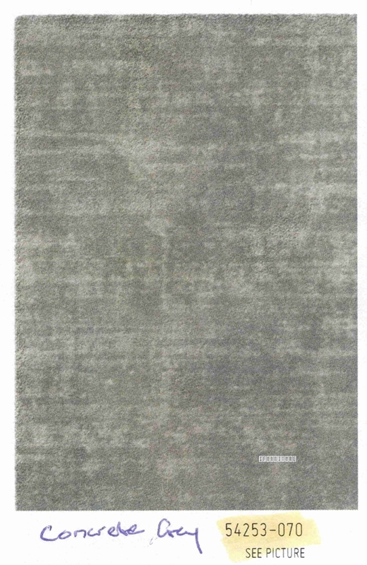Picture of Opal 160 Indoo Rug -Made in Belgium *Concrete Grey