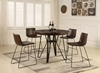 Picture of ANTALYA 5PC COUNTER HEIGHT ROUND DINING TABLE SET