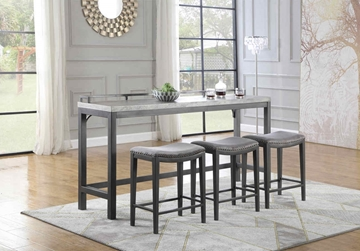 Picture of Ankara Pub table/Console bar table  Set