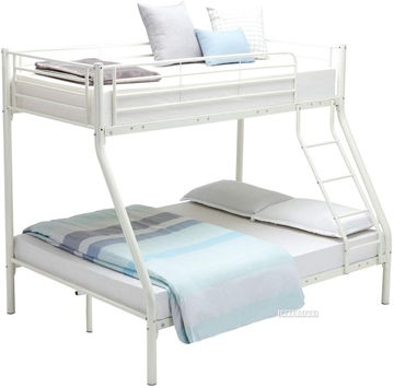 Picture of STELLA STEEL FRAME SINGLE-DOUBLE BUNK BED *WHITE