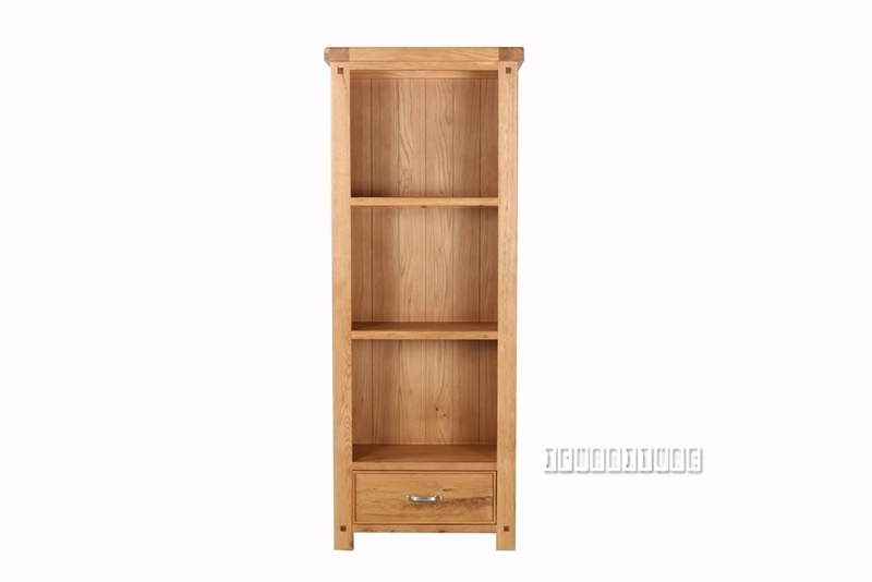 Picture of WESTMINSTER 1DRW BOOKSHELF *SOLID OAK