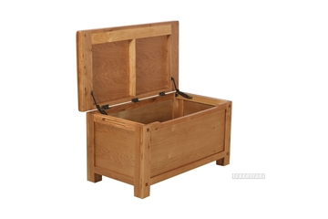 Picture of WESTMINSTER BLANKET BOX *SOLID OAK