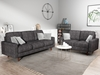 Picture of Grimsby 3+2 SOFA RANGE *Dark grey