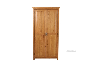 Picture of NOTTINGHAM 2DOOR WARDROBE *SOLID OAK