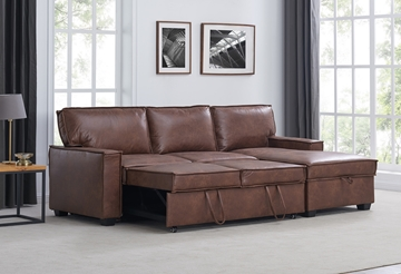 Picture of NAGMA PULL OUT SECTIONAL STORAGE SOFA BED
