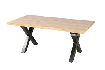 Picture of GALLOP 180 DINING TABLE *LIVE EDGE*LIGHT