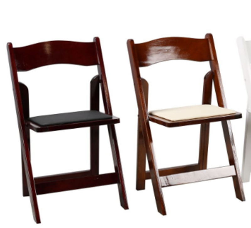 Picture of RETREAT FOLDABLE DINING CHAIR *LIGHT BROWN/DARK BROWN