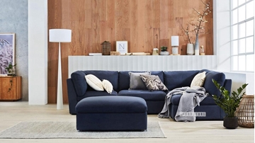 Picture of ASPECT REVERSIBLE SECTIONAL MODULAR SOFA * BLUE