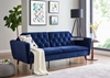 Picture of HARVEY 3 SEATER SOFA BED *VELVET