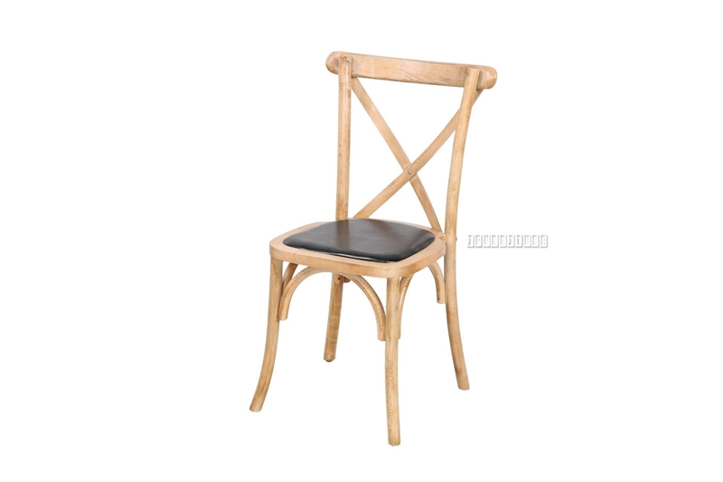 Picture of ALBION CROSS BACK CHAIR *NATURAL