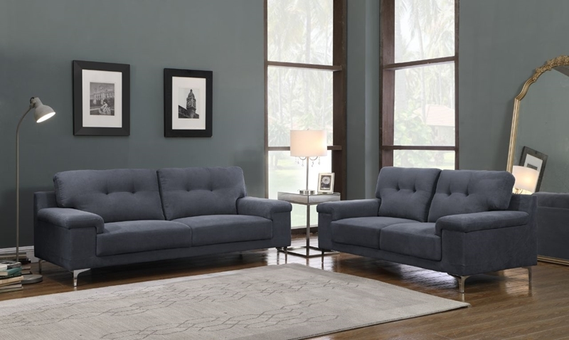 Picture of ANA 3+2 Sofa RANGE * GREY