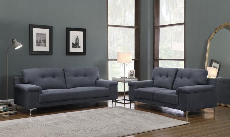 Picture of ANA 3+2 Sofa RANGE * GREY