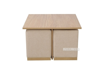 Picture of Studio Coffee Table With 4 Stools