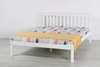 Picture of SNOW WHITE SOLID PINE BED IN *SINGLE/ /DOUBLE/ QUEEN SIZE