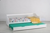 Picture of SUPER NATURAL SOLID PINE TRUNDLE BED *WHITE