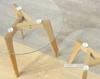 Picture of PARIS 1+1 SIDE TABLE SET*SOLID OAK LEGS