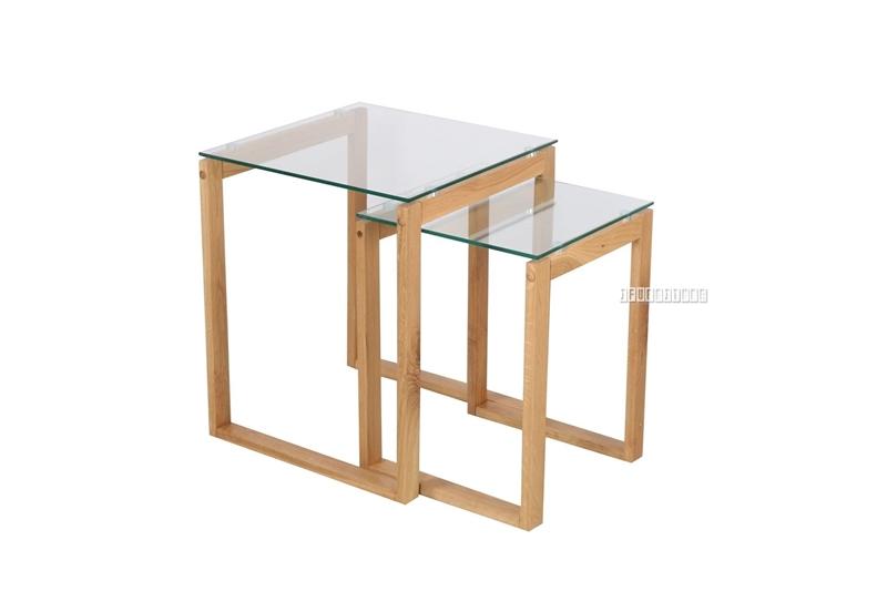 Picture of PARIS NESTING TABLE *SOLID OAK LEGS
