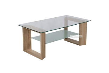 Picture of STARK GLASS COFFEE TABLE