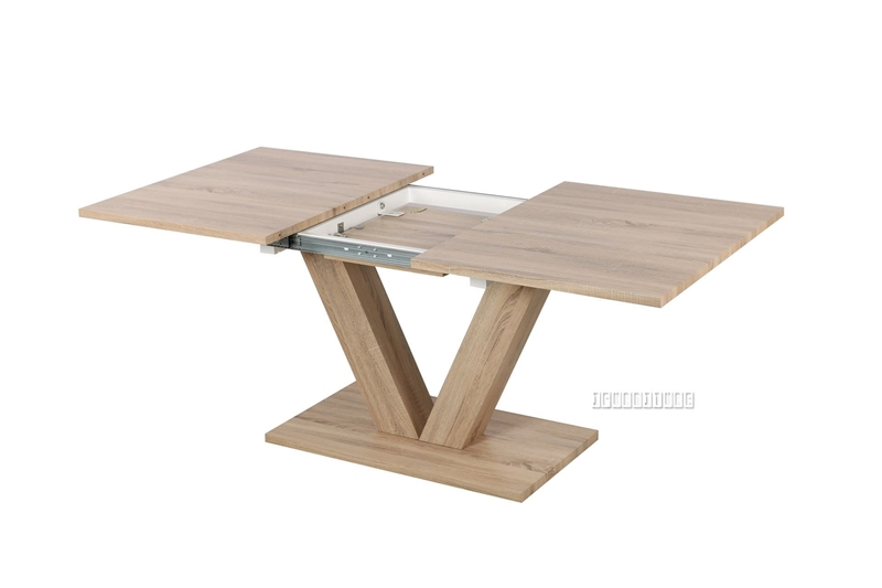 """Picture of LOGAN 55-71"""" EXTENSION DINING TABLE"""