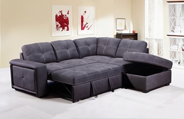 Picture of BELLINI SECTIONAL SOFA BED WITH STORAGE *GREY