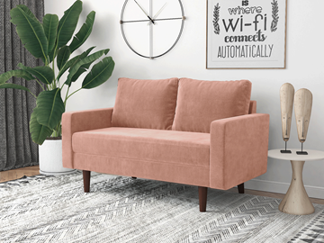 Picture of BENITO 2+3 SOFA RANGE *ROSE