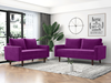 Picture of BENITO 2+3 SOFA RANGE *EGGPLANT