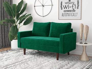 Picture of BENITO 2+3 SOFA RANGE *EMERALD