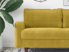 Picture of KAISON  2+3 SOFA RANGE *GOLDEN ROD