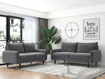 Picture of KAISON 2+3 SOFA RANGE *GREY