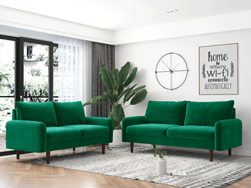 Picture of KAISON  2+3 SOFA RANGE *EMERALD