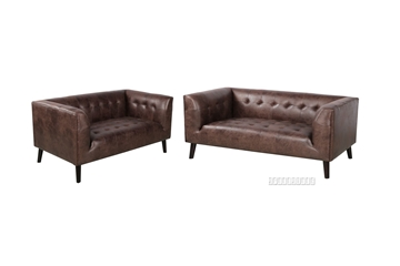 Picture of KENDRA 3+2 SOFA RANGE *AIR LEATHER