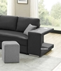Picture of KARINA SECTIONAL SOFA/ SOFA BED WITH STOOLS AND CHARGER