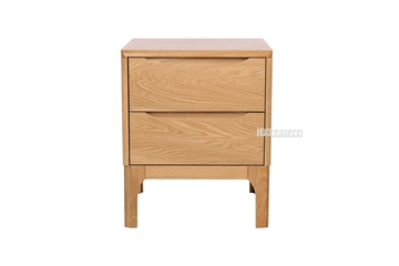 Picture of HELSINKI 2DRW BEDSIDE TABLE *SOLID OAK