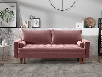 Picture of FAVERSHAM 3+2 SOFA RANGE - ROSE