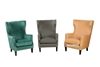Picture of CAROLINE  LOUNGE CHAIR *3 COLOURS