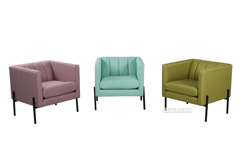 Picture of WILLA LOUNGE CHAIR *3 COLOURS