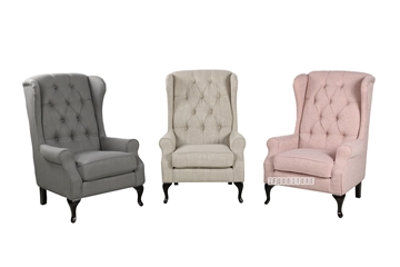 Picture of LONDON WING CHAIR /LOUNGE CHAIR *3 COLOURS