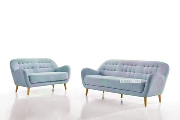 Picture of LUNA 3+2 SOFA RANGE *LIGHT BLUE