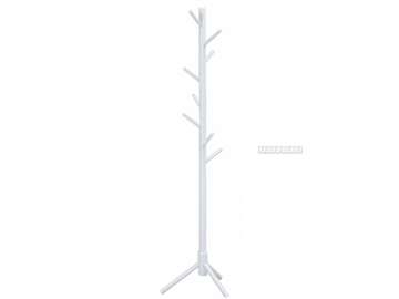 Picture of CECIL SOLID PINE COAT RACK *WHITE