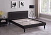 Picture of JOYANCE PLATFORM BED FRAME IN DOUBLE/ QUEEN SIZE in GREY FABRIC