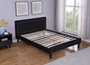 Picture of JOYANCE PLATFORM BED FRAME IN DOUBLE/ QUEEN SIZE in BLACK PU