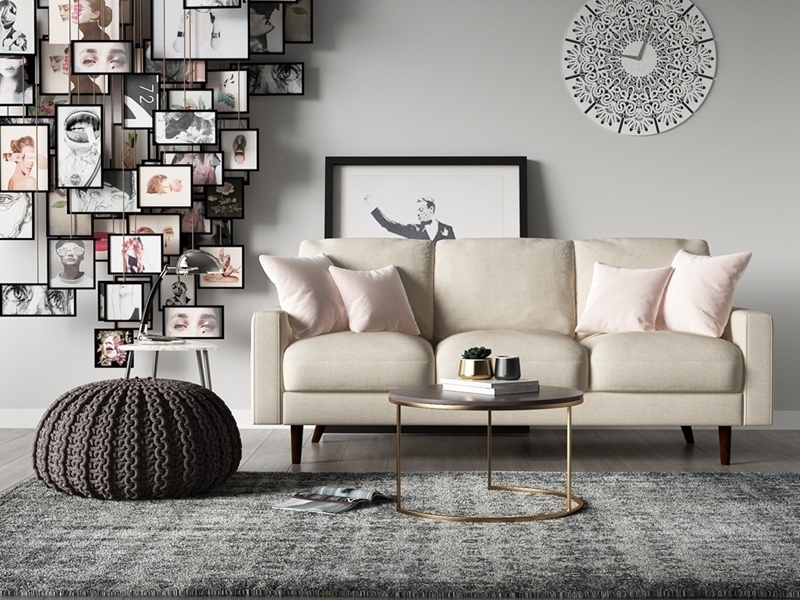 Picture of Grimsby 3+2 SOFA RANGE *BEIGE