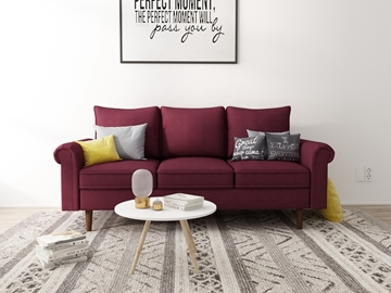 Picture of Maplewick 3+2 Sofa Range Burgundy